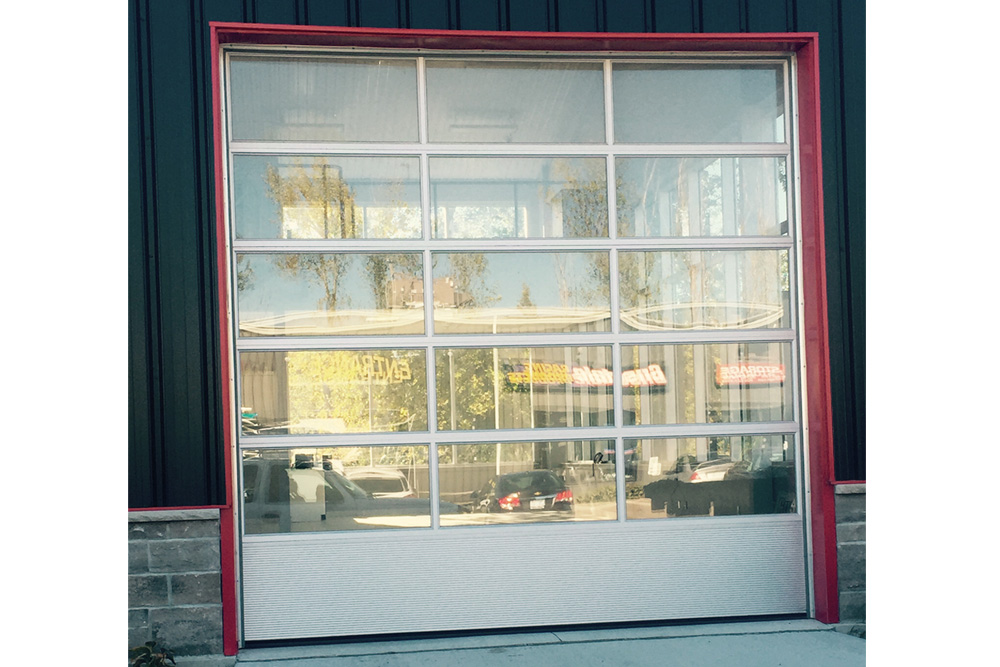 We Install All Types Of Commercial Garage Doors And