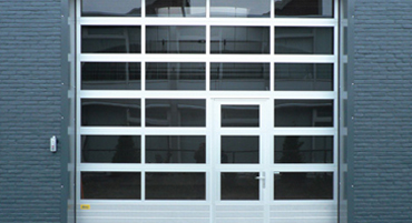 Flamborough Doors Commercial Overhang Door